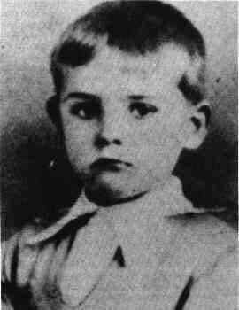 Sean Connery as a young lad